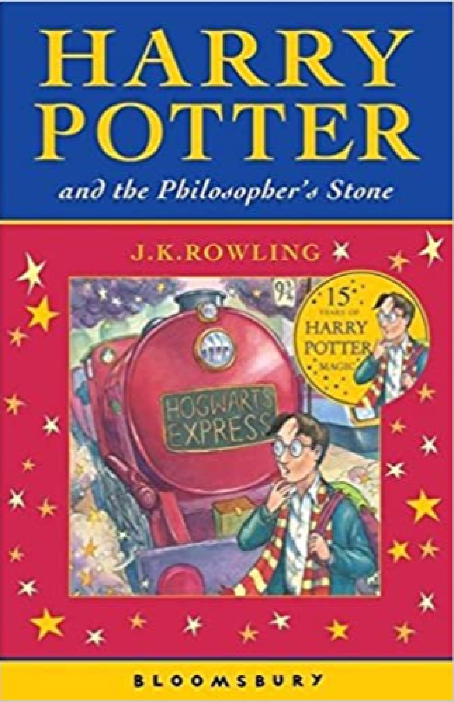 Harry Potter & The Philosopher's Stone by J.K.Rowling
